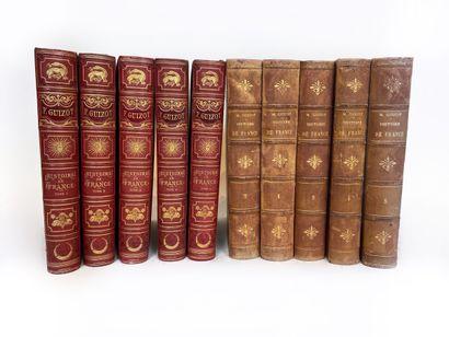 F.GUIZOT - Histoires de France, Paris, Librairie...