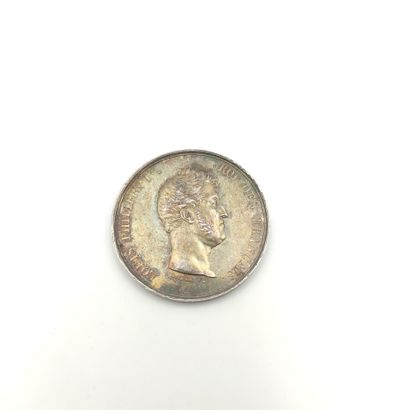 Louis-Philippe (1830-1848). Jeton en argent...