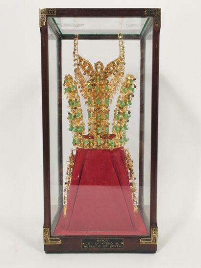 Replique de la couronne Chunma- Chong en...