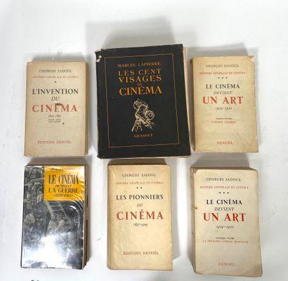 Georges SADOUL  Histoire générale du cinéma...