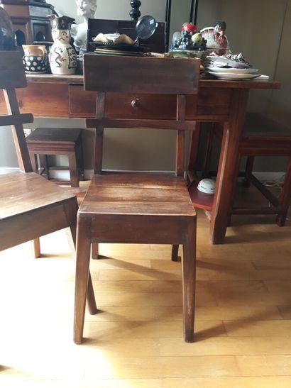 Travail asiatique  Paire de chaises