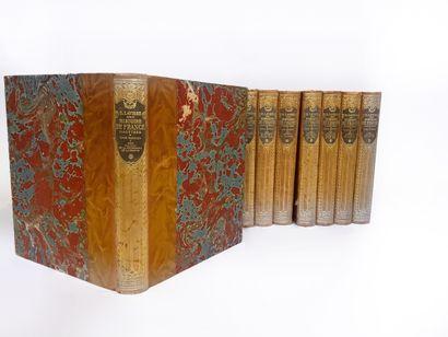 Ernest LAVISSE, Hachette  L'histoire de France...
