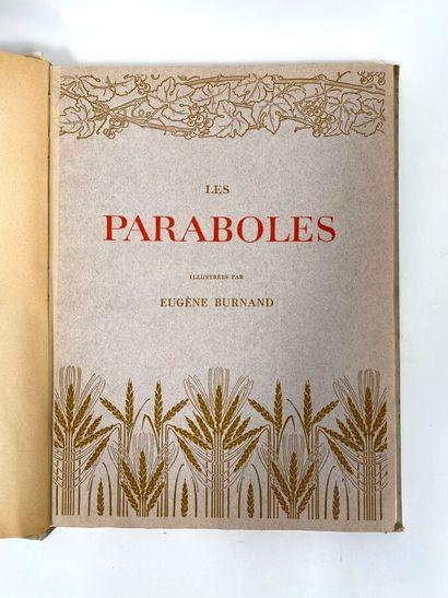Les Paraboles  Ill.BURNAND Eugène  Edité par Berger-Levrault & Cie, 1908  30 x 40...
