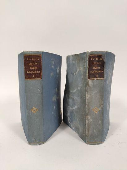 Ensemble de deux volumes sur