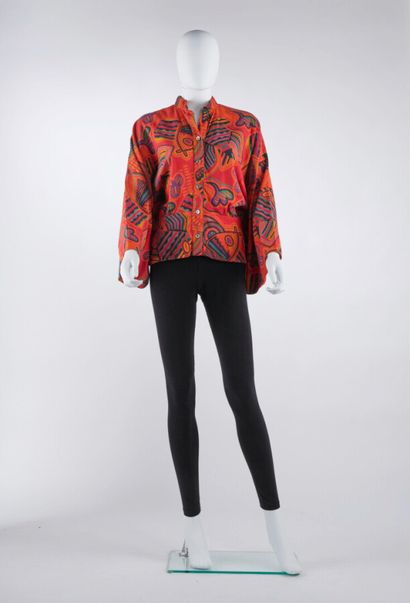 ISSEY MIYAKE - Automne-hiver 1976  BLOUSE...