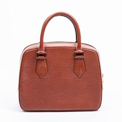 "LOUIS VUITTON  2008  Sac ""Pont-Neuf""  ""Pont-Neuf"" bag    Cuir Epi Tan  Tan Epi leather..."