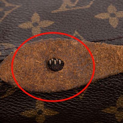 "LOUIS VUITTON  2001  Sac ""Speedy"" 35  ""Speedy"" 35 bag    Toile Monogram, cuir naturel..."