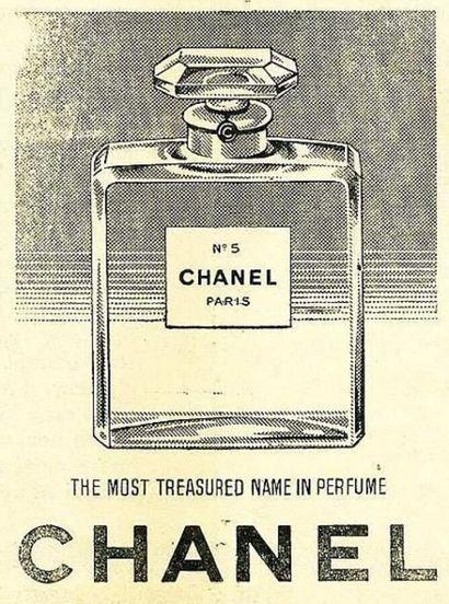 CHANEL  FLACON Eau de Parfum N°5  200 ml  (jamais ouvert, bande de protection)