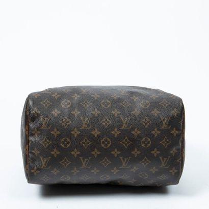 "LOUIS VUITTON  1991  Sac ""Speedy"" 30  ""Speedy"" 30 bag    Toile Monogram, cuir naturel..."