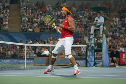 Pékin 2008. Rafael Nadal, tennis © Pierre...
