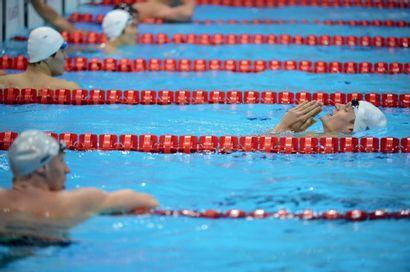 Londres 2012. Yannick Agnel, natation © Pierre...
