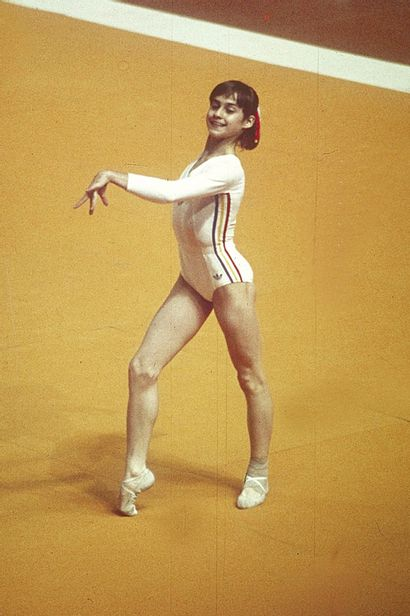 Montréal 1976. Nadia Comaneci, gymnastique...