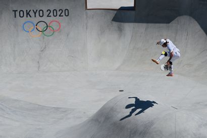 Tokyo 2020. Luiz Francisco, skateboard ©...