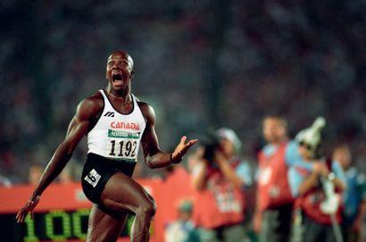 Atlanta 1996. Donovan Bailey, 100m © Bruno...