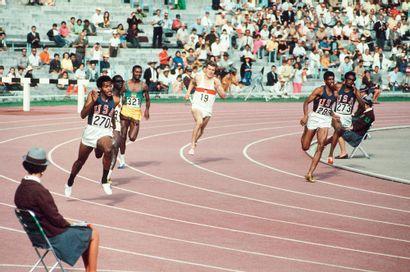 Lee Evans, 400m © Robert Legros/L'Équipe...