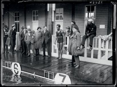 Anvers 1920. Duke Kahanamoku, natation ©...