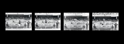Mexico 1968. Dick Fosbury, saut en hauteur...