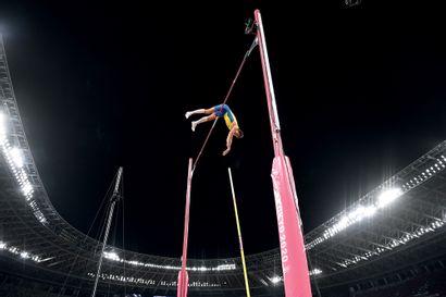 Tokyo 2020. Armand Duplantis, saut à la perche...