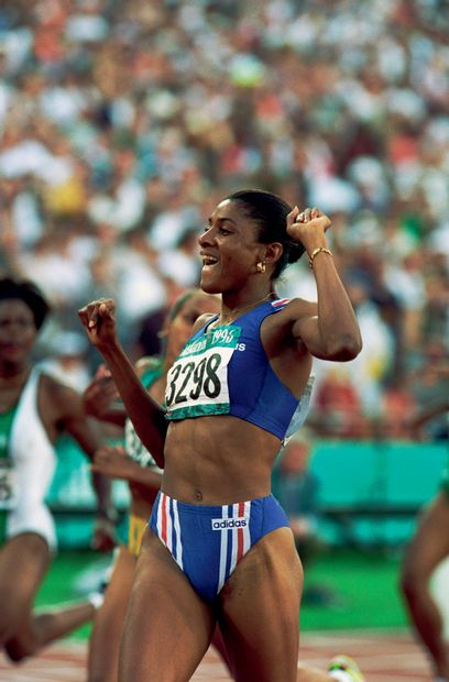 Atlanta 1996. Marie-José Pérec, 400m © Christian...
