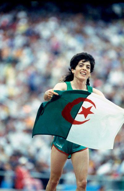 Barcelone 1992. Hassiba Boulmerka, 1500m...