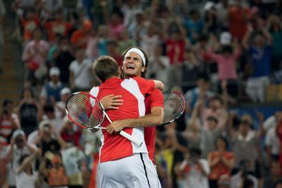 Pékin 2008. Federer-Wawrinka, tennis © Pierre...