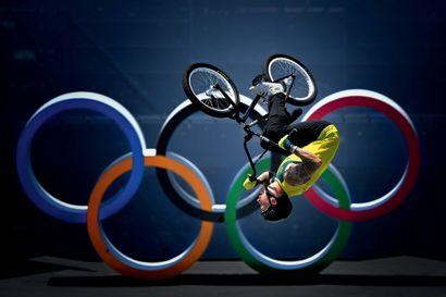 Tokyo 2020. Logan Martin, BMX free style...