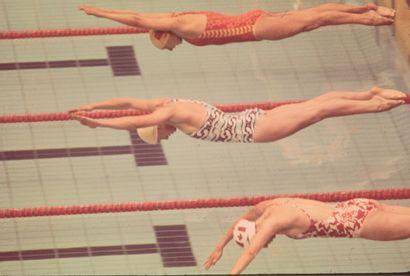 Montréal 1976. Kornelia Ender, natation ©...
