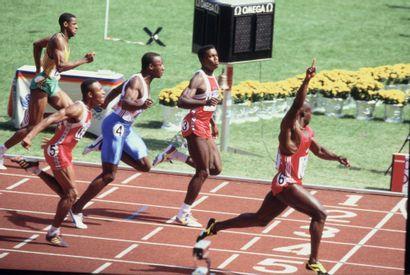 Séoul 1988. 100m © Robert Legros/L'Équipe...