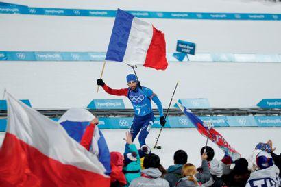 Pyeongchang 2018. Martin Fourcade, biathlon...