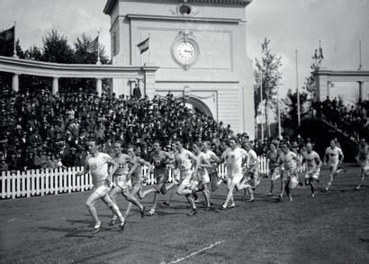 Anvers 1920. 3000m hommes par équipes © Collections...