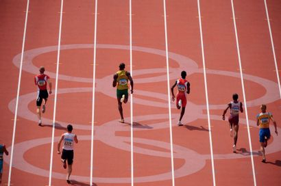 Pékin 2008. 200m © Jérôme Prévost/L'Équipe...