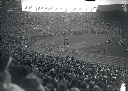 Londres 1948. Relais 4x100m © Collections...