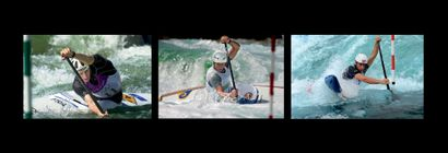 Tony Estanguet, canoë-kayak © Fel-Lahalle-Rondeau/L'Équipe...