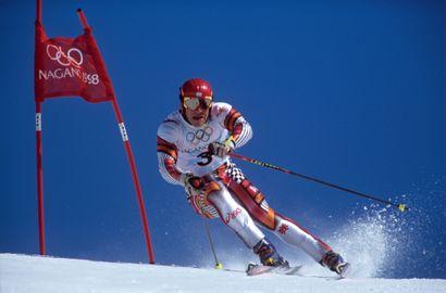 Nagano 1998. Hermann Maier, ski alpin (slalom...
