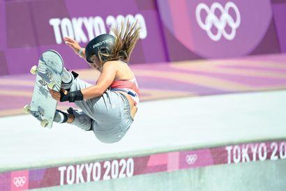 Tokyo 2020. Sky Brown, skateboard © Pierre...
