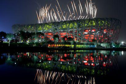Pékin 2008. Cérémonie d'ouverture © Pierre...