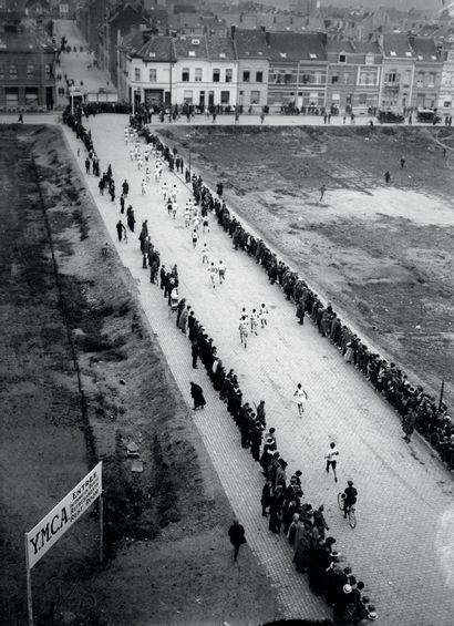 Anvers 1920. Marathon © Collections L'Équipe...