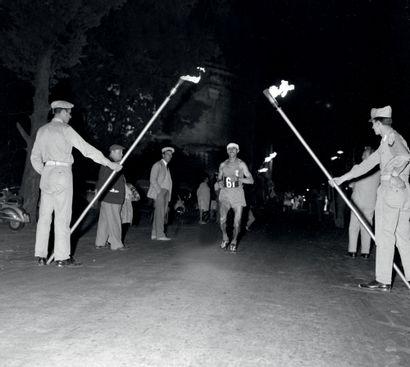 Rome 1960. Alain Mimoun, marathon © L'Équipe...