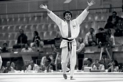 Moscou 1980. Thierry Rey, judo © Robert Legros/L'Équipe...