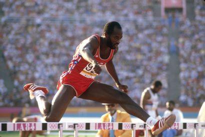 Los Angeles 1984. Edwin Moses, 400m haies...