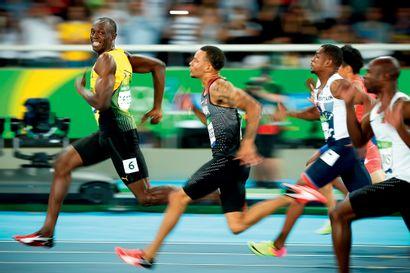Rio 2016. Usain Bolt, 100m (demi-finale)...