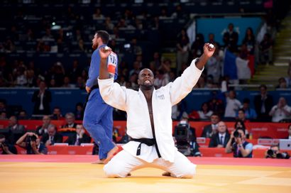 Londres 2012. Teddy Riner, judo © Stéphane...
