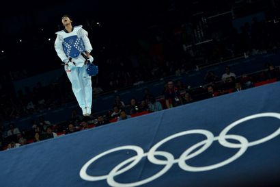 Londres 2012. Rohullah Nikpai, taekwondo...
