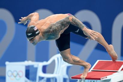 Tokyo 2020. Caeleb Dressel, natation © Franck...