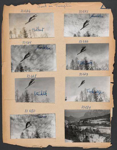 JO 1956 © L'Équipe Cortina d'Ampezzo 1956....