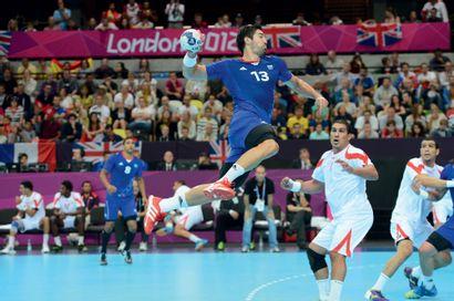 Londres 2012. Nikola Karabatic, handball...