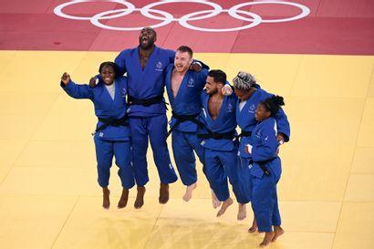 Tokyo 2020. Équipe de France, judo par équipes...
