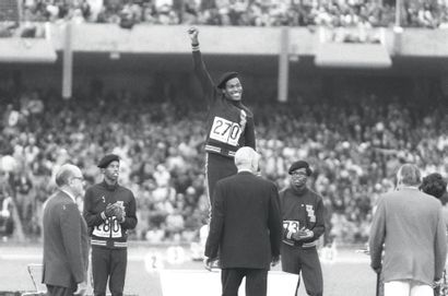 Lee Evans, 400m © L'Équipe 18 octobre 1968....