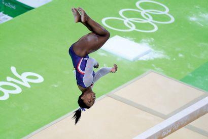 Rio 2016. Simone Biles, gymnastique © Franck...