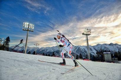 Sotchi 2014. Martin Fourcade, biathlon ©...